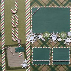 Joy layout created by Sukie using Candy Cane Trendy Twine.