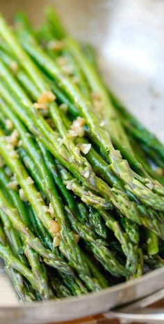 Garlic Butter Sauteed Asparagus – great side dish for Easter. | rasamalaysia.com