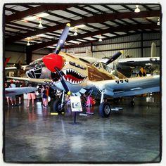 Curtiss P-40K Warhawk.