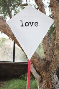 The LOVE Kite. Valentine's Day gift. #gifts #valentinesday