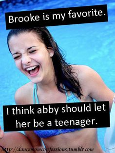 Brooke Hyland :) I think all adults need to remember this