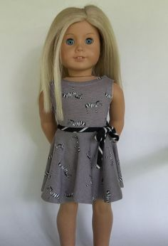 Hey, I found this really awesome Etsy listing at https://www.etsy.com/listing/454193246/18-inch-dollag-doll-taupe-skater-dress