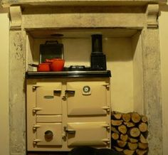 Rayburn Supreme Solid Fuel Cooker