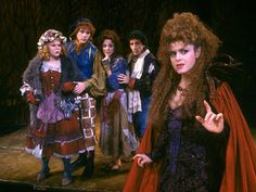 """Bernadette Peters as the Witch in Stephen Sondheim's """"Into the Woods"""""""