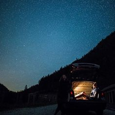 Fireflies in the car