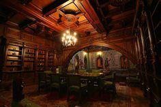 Castelul Peles - Peles Castle - Biblioteca de la etaj by charadesparty, via Flickr