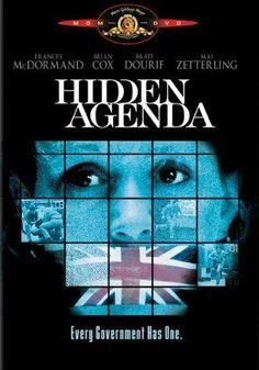 Agenda oculta [Hidden Agenda]. Reino Unido, 1990. Dir. Ken Loach. Int.: Frances McDormand, Brian Cox, Mai Zetterling, Brad Dourif, Michelle Fairley, Brian McCann.