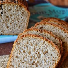 Yeast Bread, Breakfast For Dinner, How To Make Bread, Banana Bread, Bakery, Good Food, Food And Drink, Cooking Recipes, Milkshakes