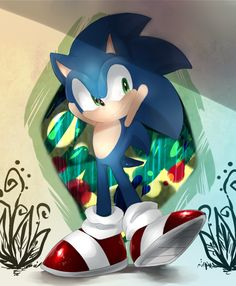 Sonic by Unichrome-uni on deviantART - Sonic the Hedgehog