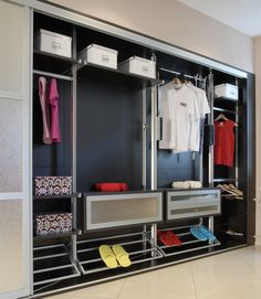 Everything in it's place. never had a wardrobe malfunction again! www.paolomarchetti.com #furniture #design
