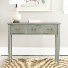 Safavieh Cindy Console Table - Gray Wash @ Target  Entry table