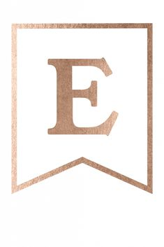 Free Printable Rose Gold Banner Template - Paper Trail Design Eid Mubarak Stickers, Eid Stickers, Eid Crafts, Ramadan Crafts, Free Printable Banner Letters, Banner Template, Gold Banner, Gold Letters, Alphabet Letters