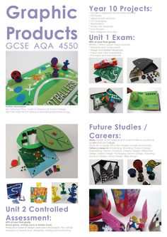 GCSE Graphic Products