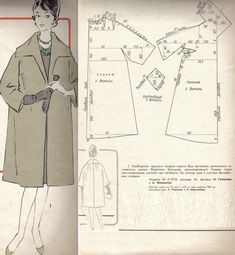 Image gallery – Page 553661347938306923 – Artofit Barbie Patterns, Coat Patterns, Dress Sewing Patterns, Vintage Sewing Patterns, Clothing Patterns, Cape Pattern, Jacket Pattern, Pattern Design, Pattern Cutting