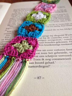 Mini granny boekenleggers | Haak Maar Aan | Bloglovin'