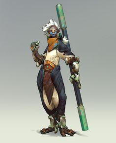 ArtStation - Khoa Việt's submission on Beyond Human - Character Design