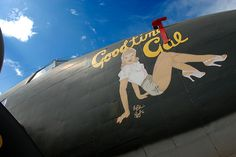WWII Airplane Nose Art - Pinups blessed by Pantherart - April 2012