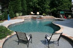 Inground pools for small yards pools pinterest for Pool design by laly llc