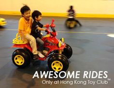Awesome battery-operated ride-on cars!