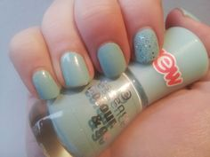Whimsy Is Forever: NOTD: That's What I Mint