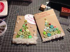 Christmas cards #handmade by BB