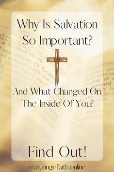 Salvation changes you a lot more than you might think. You received a new nature when you accepted Jesus, see here how that happened. Saving Grace, Saved By Grace, What Happens When You, You Changed, Continue Reading, Forgiveness, Faith, Shit Happens
