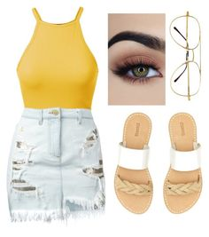"""""""Summer"""" by kellyaguilera ❤ liked on Polyvore featuring Versus, Soludos, Summer and summer2017"""