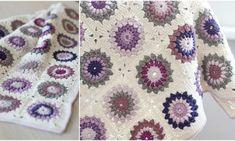 Transcendent Crochet a Solid Granny Square Ideas. Inconceivable Crochet a Solid Granny Square Ideas. Crochet Motifs, Crochet Square Patterns, Crochet Squares, Crochet Blanket Patterns, Crochet Stitches, Crochet Blankets, Granny Pattern, Love Crochet, Crochet Hooks