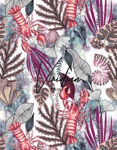 Viridian Prints by Gizem Ozden....Surface pattern & textile print design    www.viridianprints.com