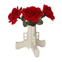 Look what I found at UncommonGoods: Gun Flower Vase for CAD Rose Vase, Flower Vases, Gender Reveal Themes, Baby Shots, Rose Centerpieces, Guns And Roses, Ceramic Flowers, Ceramic Vase, Reveal Parties