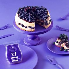 Mmmm blueberry cheesecake  One of my favourite scentsy melts #scentsy #cheesecake https://kimberleygraham.scentsy.co.uk/