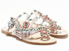 Seahorse sandals! Love! Bet they are uncomfortable though...
