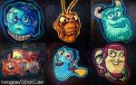 Man turns Pixar characters into amazing pancakes - Telegraph Pancake Art, Pixar Characters, Food Art, New Recipes, Pancakes, Amazing, Awesome, Christmas Ornaments, My Favorite Things