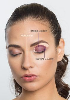 Onto eyeshadow! | Here's How To Do Your Makeup So It Looks Incredible In Pictures