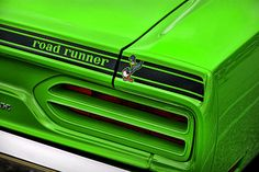 1970 Plymouth Road Runner - Sublime Green