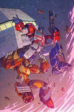 Dark Cybertron 2 - Optimus Prime & Hot Rod
