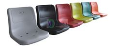 Pisces Factory design plastic chair used gym audience stadium seat wholesale price