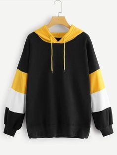 Sports Sweatshirts, Hooded Sweatshirts, Cool Outfits, Fashion Outfits, Tomboy Outfits, Punk Fashion, Lolita Fashion, Fast Fashion, Fashion Online