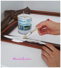 Revelo & ideas low cost: Pintar y decorar un espejo