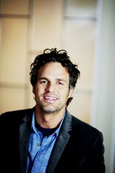 Mark Ruffalo denim colored shirt