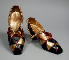 Perugia Shoes - 1930 - by André Perugia (French, 1893-1977) - @Mlle...via Mlle