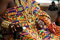 King -Ghana print