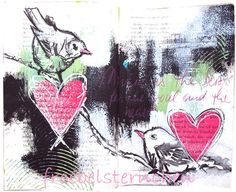 froebelsternchen: BIRDS AND HEARTS