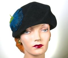 5049bc784 9 Best Berets and Caps images in 2019   Hats, Millinery hats, Berets