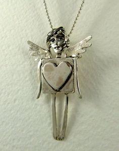 Sterling Silver Angel Jewelry  Angel Havannah Has by robinwade