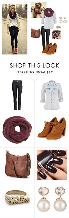 """#Loveit"" by maggiesmelody ❤ liked on Polyvore featuring H&M, maurices, Frye, Snash Jewelry and Samira 13"