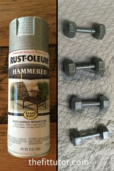 How To Remove Rust from Dumbbells. Save Your Cash!