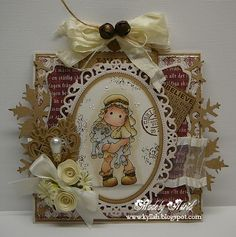 Cards by Astrid: Ribbon Girl Challenge !!!!