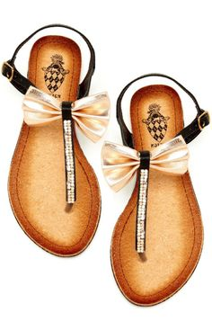 Hautelook, sandals, bows, summer, fashion