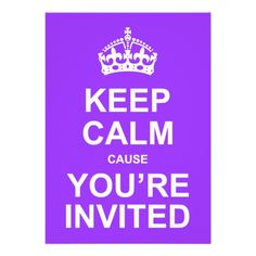 Keep Calm Cause You're Invited Quinceañera in each seller & make purchase online for cheap. Choose the best price and best promotion as you thing Secure Checkout you can trust Buy bestThis Deals          Keep Calm Cause You're Invited Quinceañera Here a great deal...